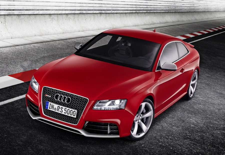 breaking news the audi rs5 brochure. Black Bedroom Furniture Sets. Home Design Ideas