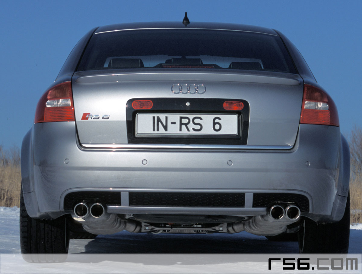 Audi Rs6 Quad Pipe Exhaust By Mtm Audiworld Forums