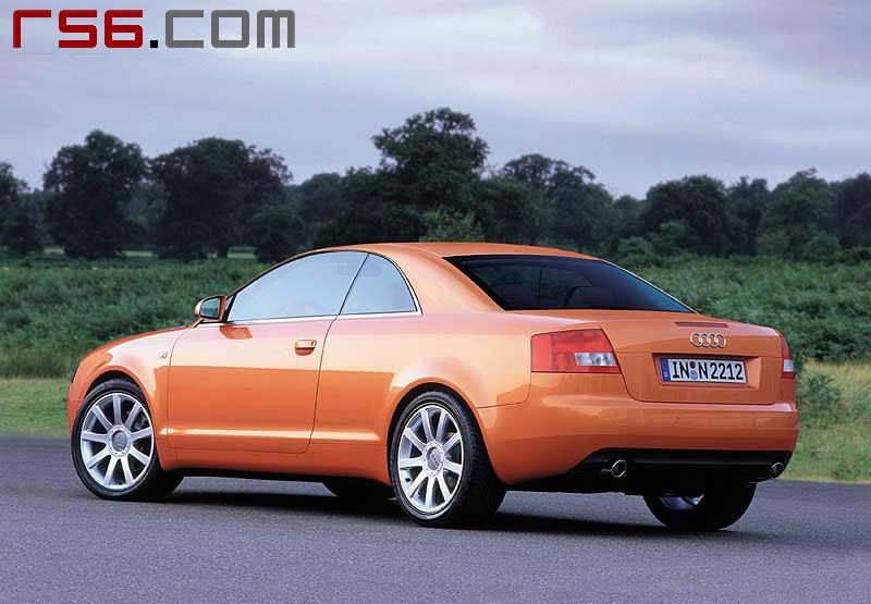 Pic New A Coupé - Audi a4 coupe