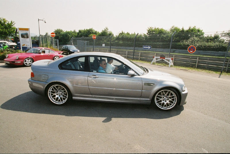 Pictures: BMW M3 CSL at Nürburgring (x-post) - BMW M5 Forum and M6 ...