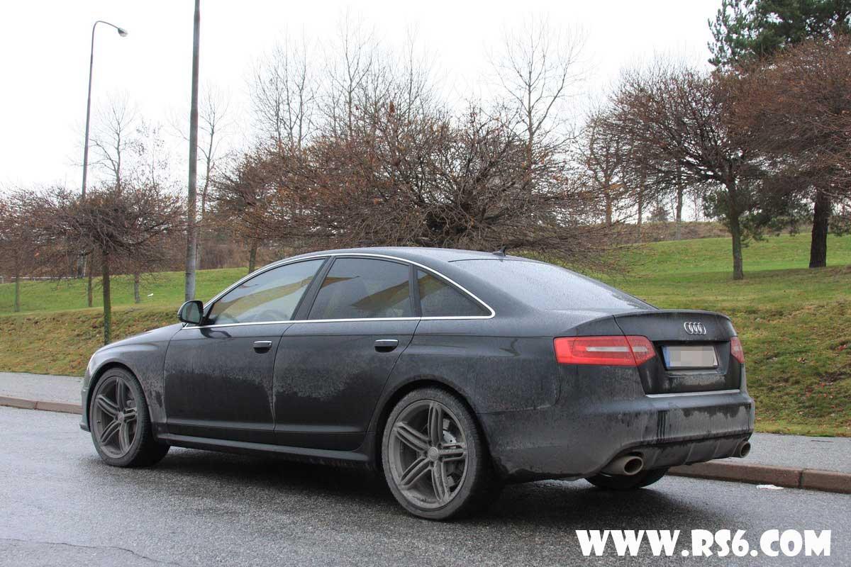 Pics New Audi Rs6 V10tt Sedan Black